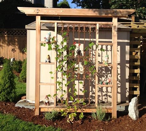 Make Your Own Trellis make your own garden trellis diy projects