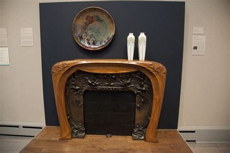 Fireplace Toledo Ohio by This Nouveau Fireplace By Hector Guimard Is In The