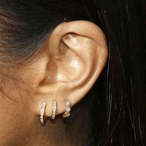 Shay Mitchell Ear Piercings | shay mitchell ear lobe upper lobe piercing steal her style
