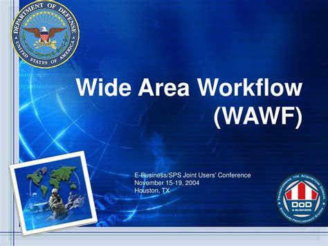 wide area workflow wawf ppt wide area workflow wawf powerpoint presentation