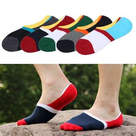 mens loafer socks mens loafer boat socks invisible quot no show quot cotton socks