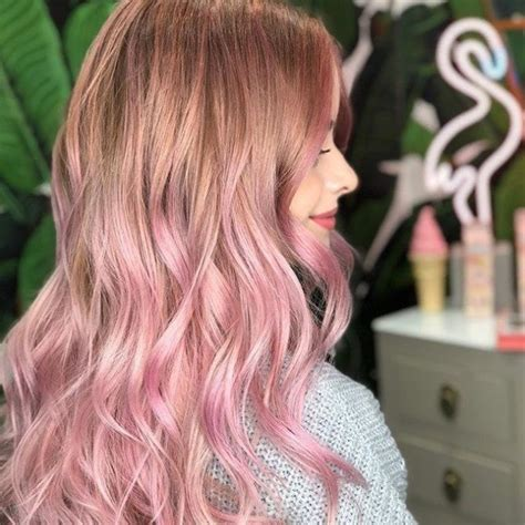 Pink Hair Brown Shadow Root Chocolate Strawberry Ombre Of Chocolate Strawberry Hair Color 14 Pretty Pink Ombre Hair Looks That We All Things Hair Uk