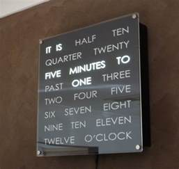complete wordclock kit dougs word clocks