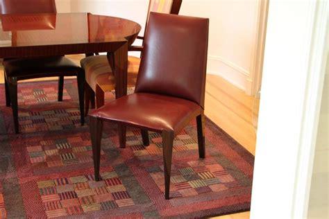 dakota jackson dining table and chair set at 1stdibs