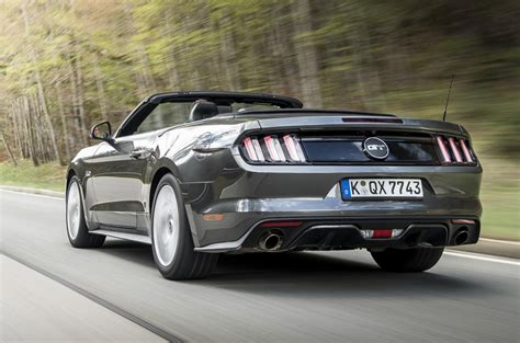 2015 ford mustang convertible 2 3 ecoboost review review