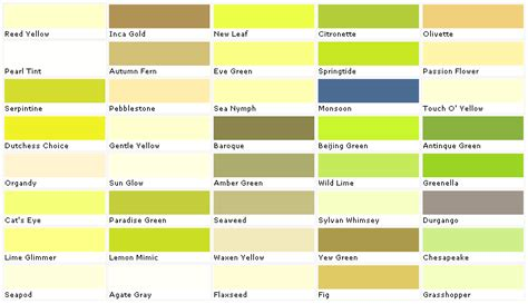 paint chart chip sle swatch palette color charts exterior brown hairs