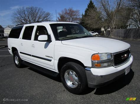 2001 gmc yukon slt summit white 2001 gmc yukon xl slt 4x4 exterior photo