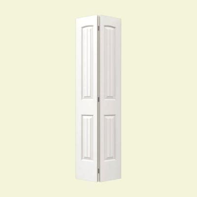 2 Panel Bifold Closet Doors Jeld Wen 30 In X 80 In Smooth 2 Panel Plank Arch Top Hollow Molded Interior Closet Bi