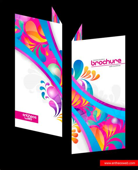 template brochure corel draw x4 best coreldraw tutorials for print design entheos
