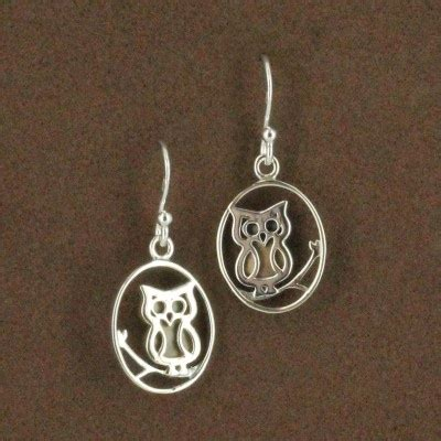 Boma Sterling Silver Owl Earrings 40 best sterling silver jewelry images on