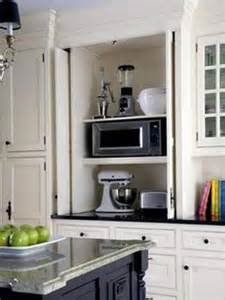 kitchen appliance storage counter clutter closet with food ideas drinkware for compact appliances small