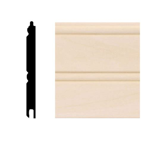 Tongue And Groove Wainscot Paneling by House Of Fara 0 67 Sq Ft Basswood Tongue And Groove