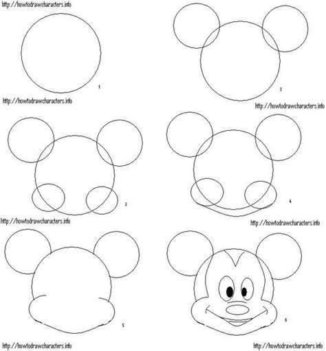 learn how to draw mickey mouse step by step easy drawing how to draw mickey mouse 186 o 186 disney crafts 186 o 186