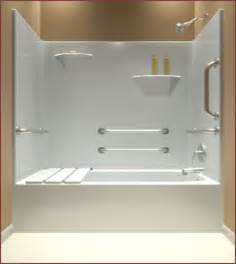 28 one bathtub surround one shower