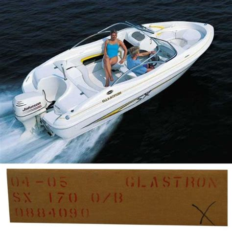 glastron boats covers glastron 0884090 gray 2004 05 170 sx outboard boat mooring