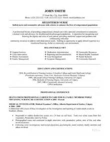 Resumes For Registered Nurses by Click Here To This Registered Resume Template Http Www Resumetemplates101
