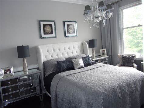 benjamin silver gray bedroom home staging new jersey home stager grey silver real