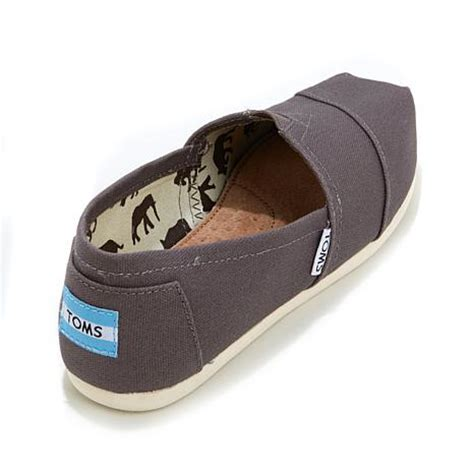 hsn shoes toms classic canvas slip on womens 7964055 hsn