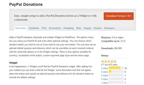 20 Top Notch Wordpress Paypal Plugins Wp Template Paypal Donation Page Template