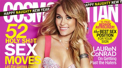Conrad Lands The Cover Of Cosmo And Becomes The Spokesperson For Cosmetics by Conrad January 2013 Cosmopolitan