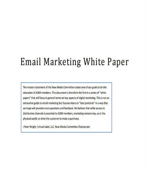 marketing white paper template 32 white paper formats