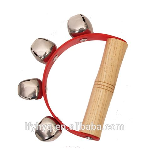 Marakas Kayu Mainan Musik Bayi penjualan panas alat musik bayi lonceng tangan gemetar lonceng mainan alat musik id produk