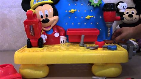 mickey mouse work bench mickey mouse mouskadoer toy tool set workbench candy