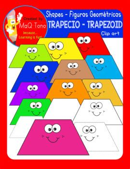 figuras geometricas trapecio figuras geometricas trapecio shapes trapezoid by maq tono