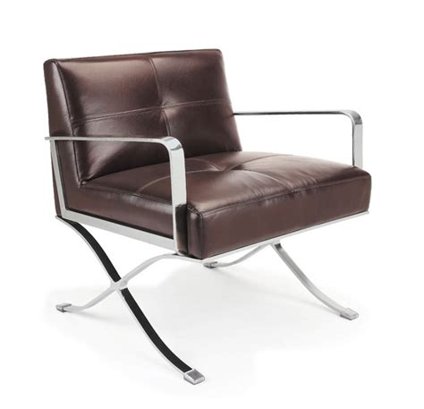 leather lounge chair ec 011 modern leather lounge chair