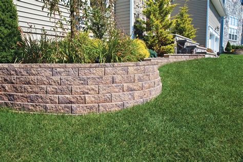 For Garden Walls Garden Wall 4 Libertystone Hardscaping Systems