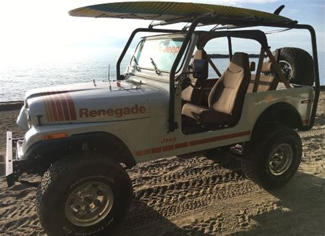 Paddle Board On Jeep Wrangler 1979 Jeep Cj 7 Paddle Board Cooler Or 20 000