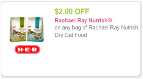 printable rachael ray dog food coupons rachael ray nutrish cat food coupons for kroger deal