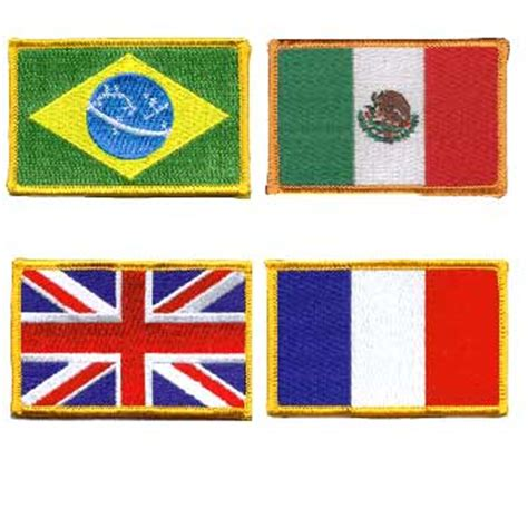 flags of the world patches world flag patches