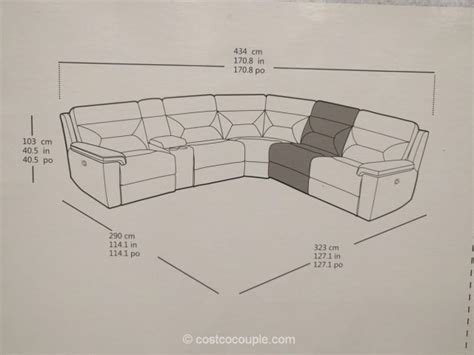 kuka sectional leather sofa kuka leather reclining sectional