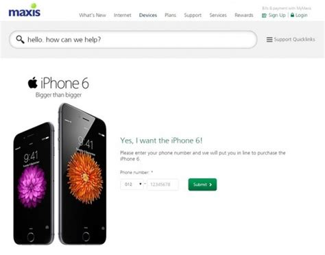 maxis and digi take counter measures after erratic iphone6my pre orders lowyat net