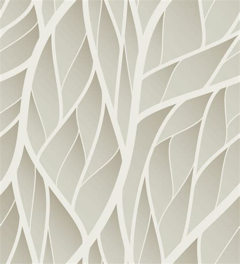 grey leaf pattern wallpaper print a wall paper leaves in grey pvc free wallpaper by