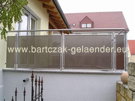 Balkongeländer Stahl Bausatz by Gel 228 Nder Balkongel 228 Nder Bartczak Gelaender