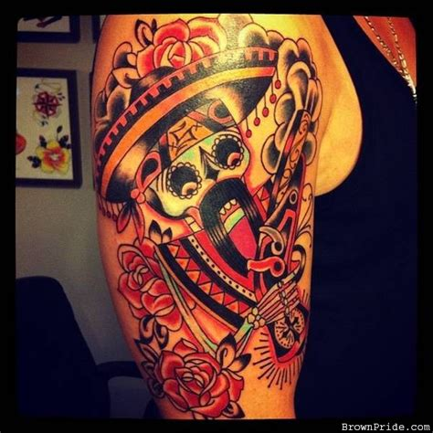 tattoo arm mexican mexican tattoos and designs page 7