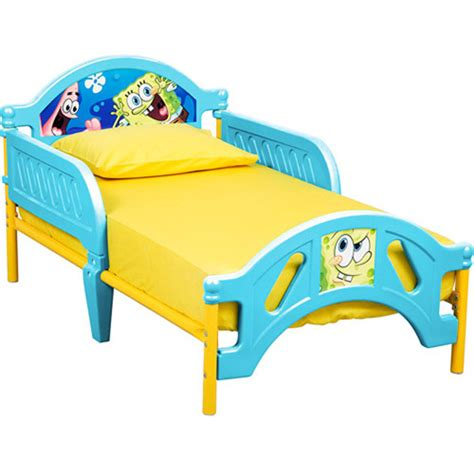 spongebob bed nickelodeon spongebob squarepants toddler bed 10th