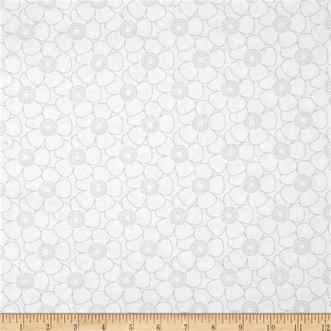 grey and white upholstery fabric get back packed floral gray white discount designer