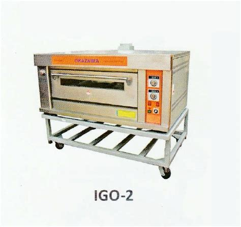 Oven Okazawa okazawa 1layer 2tray industrial gas oven my power tools