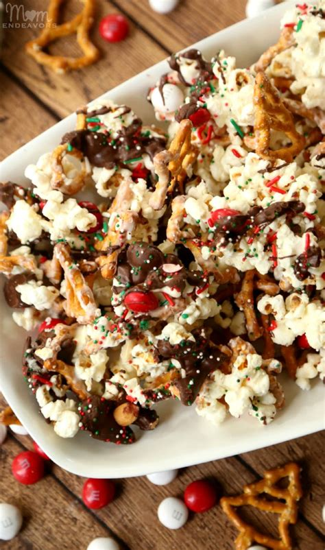 christmas sweet and salty snack mixes santa s sweet salty snack mix