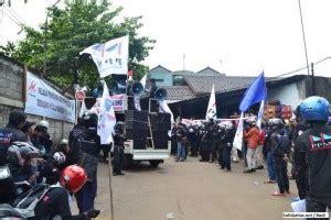 Pt Metindo Di Bekasi buruh pt metindo dipecat karena ikut serikat pekerja