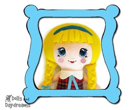 design doll file location machine embroidery kawaii doll face pattern