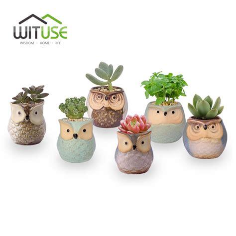 Online Home Decor Cheap online get cheap ceramic owl planter aliexpress com