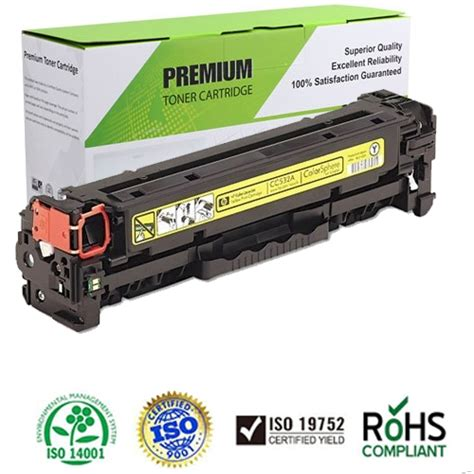 hp color laserjet cp2025 toner compatible laserjet cp2025 series yellow toner