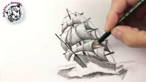 imagenes de barcos a lapiz como dibujar un barco a lapiz paso a paso tecnicas de