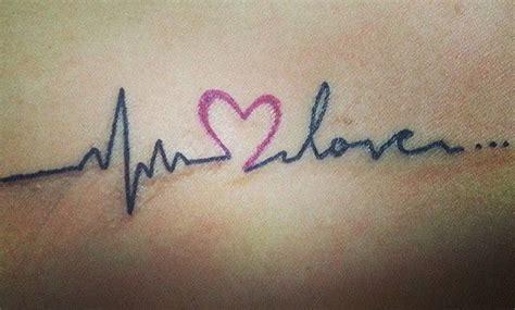 imagenes de love tatuajes tatuajes de latidos de coraz 243 n