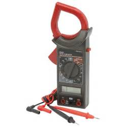 7 function clamp on digital multimeter