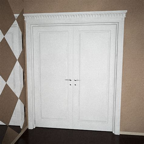 Free Interior Doors by White Layer Door 3d Models 3d Model Free